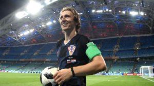 Tin Tức Bóng Đá - Luka Modric gcân bằng kỷ lục trên Đội tuyển Croatia